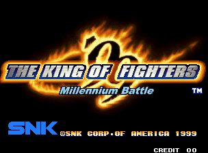 The King of Fighters '99 - Millennium Battle (set 1) Title