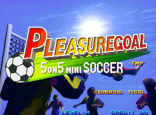 Pleasure Goal / Futsal - 5 on 5 Mini Soccer Title