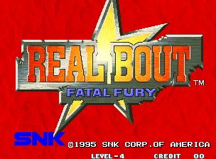 Real Bout Fatal Fury / Real Bout Garou Densetsu Title