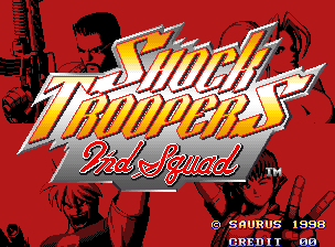 Shock Troopers - 2nd Squad Title