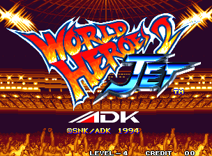 World Heroes 2 Jet Title