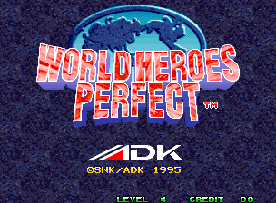 World Heroes Perfect Title